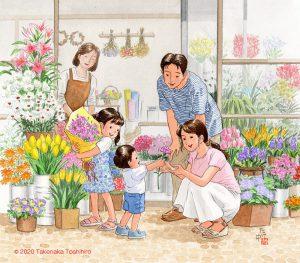 母の日(mothers day)にお母さんにお花を選んで贈れるのって幸せですね。